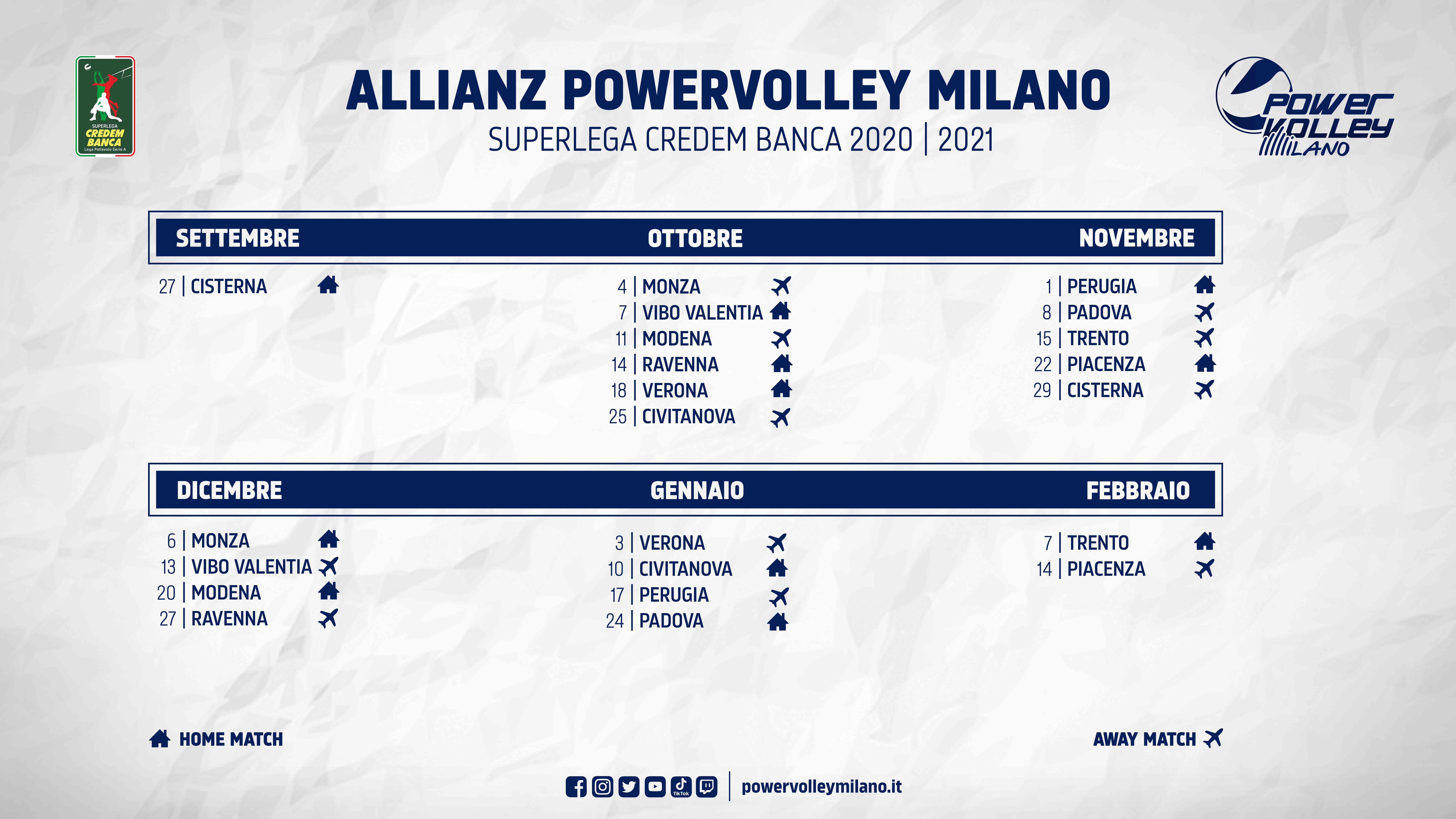 Superlega 2020 21, ufficializzato il calendario della nuova
